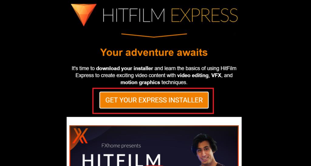 HitFilmExpressダウンロード