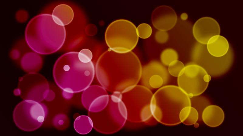 水玉グラデーションのYouTubeサムネイル用素材レッドワインの赤