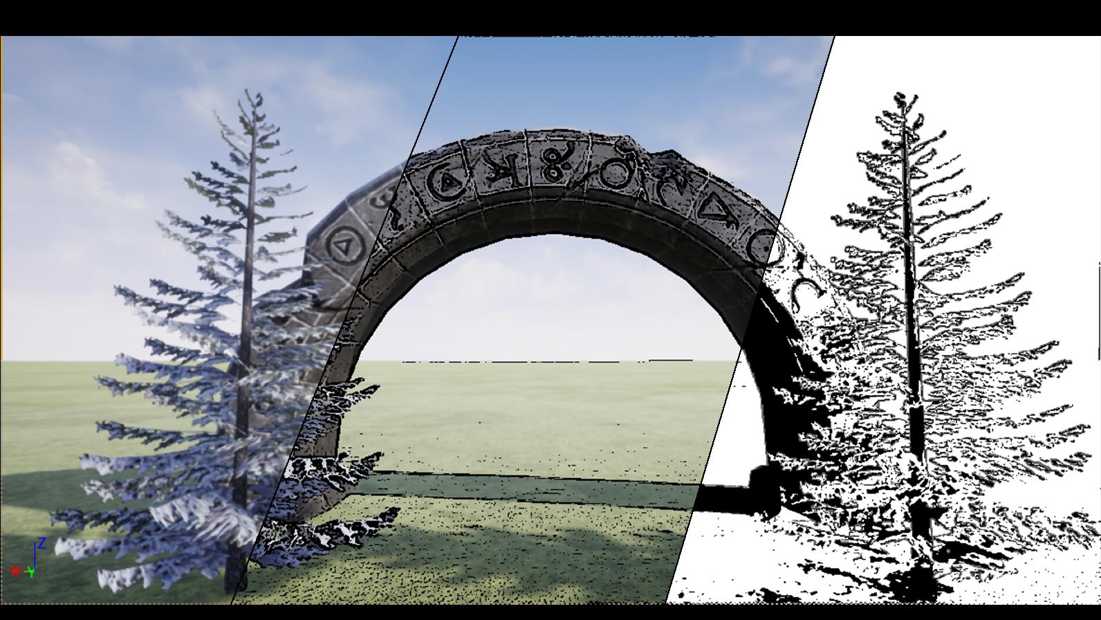 【デジ絵】UnrealEngineを漫画に使おう!きれいな背景を作ろう