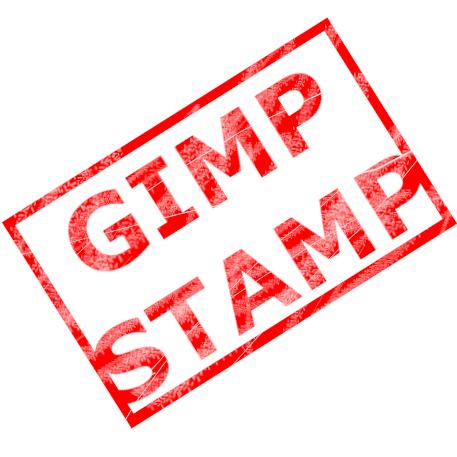 【無料で画像編集】GIMPでかっこいいスタンプ文字を作ろう!サムネイル用のかすれ文字素材の作り方【入門&初心者向け】