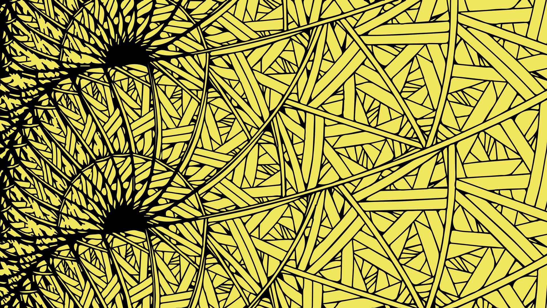 かっこいいジグザグ細かい包帯のパターン壁紙