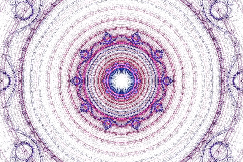 【無料背景画像】神秘的な魔法陣風の壁紙素材