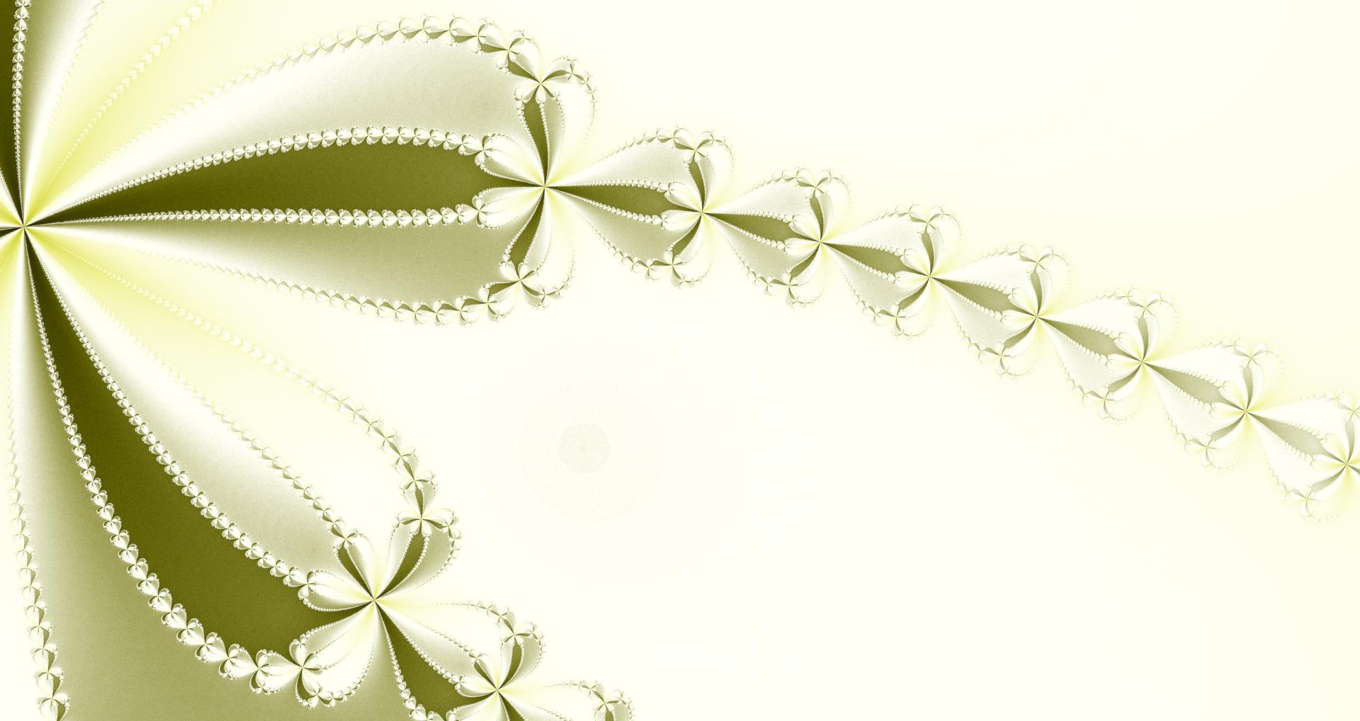 ・おしゃれ&きれいなレース風の壁紙素材:りんかくハッキリ・ゴールド
