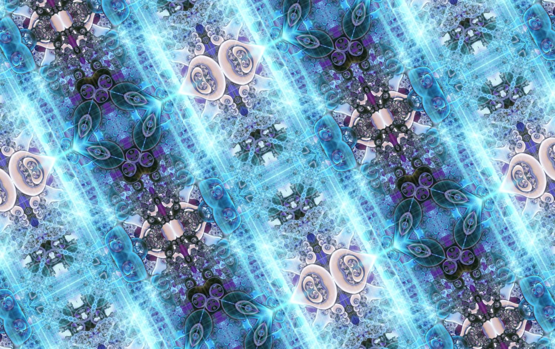 おしゃれな宝石ネオンの輝きパターン柄