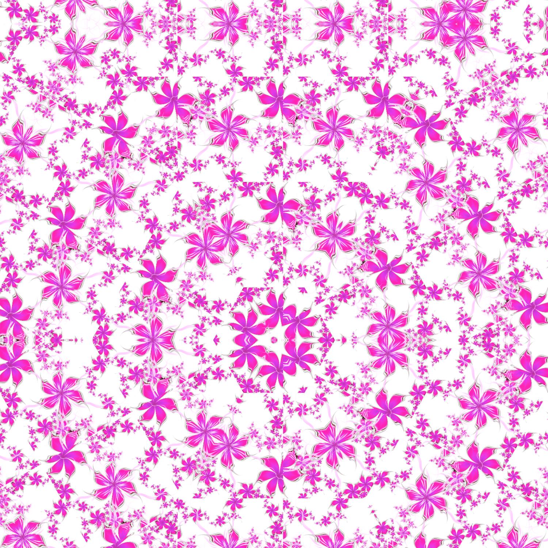 かわいい花びら-ヒラヒラピンク-ハイコントラスト