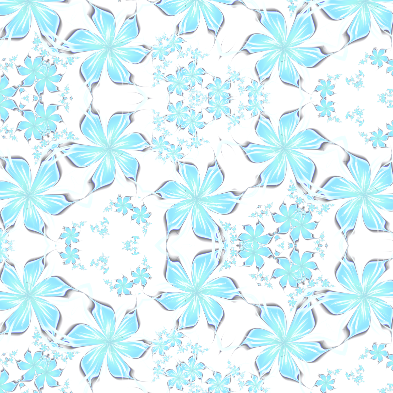 かわいい花びら-ヒラヒラピンク_ブルー