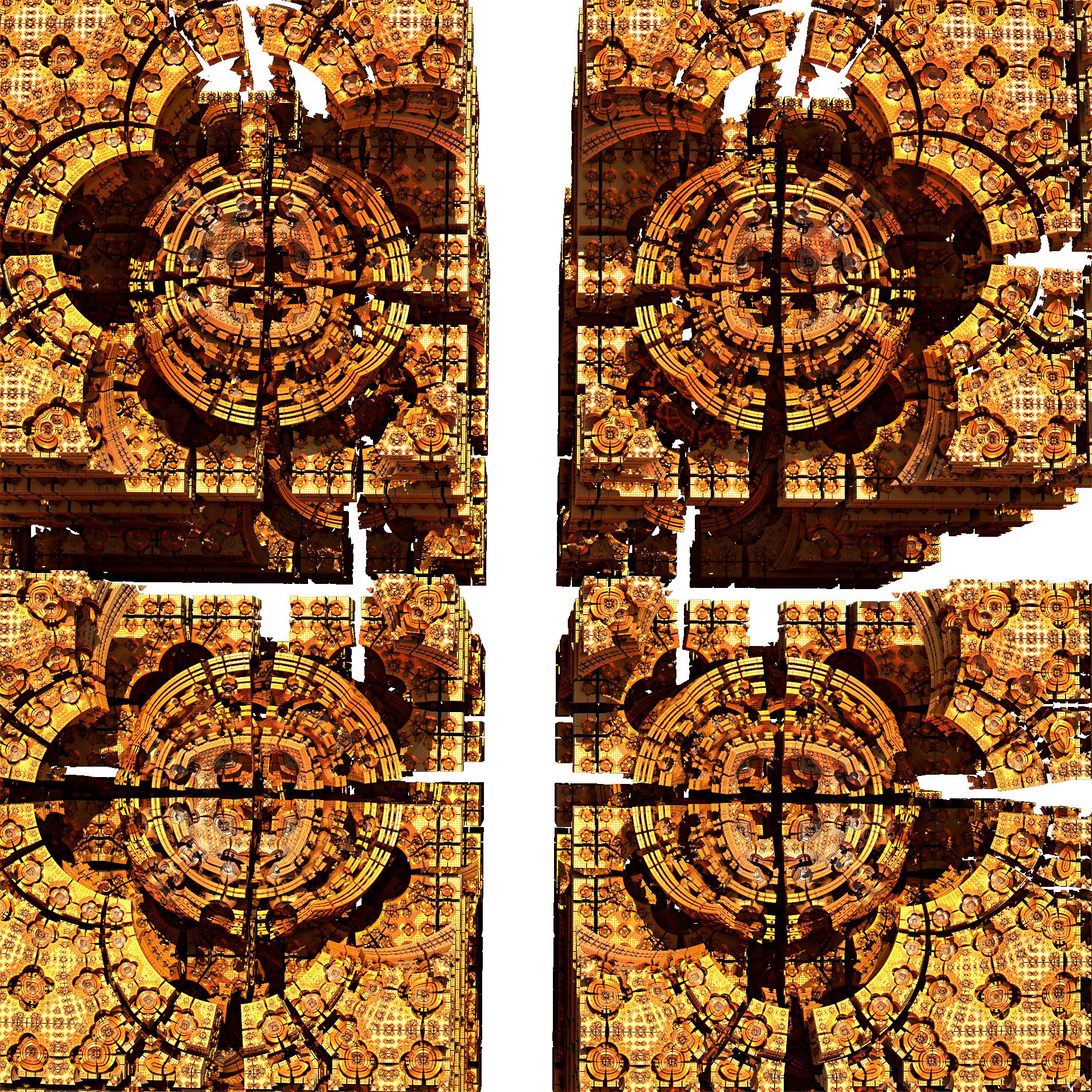 ゴールドダイヤモンド&光り輝くマシン:リアル
