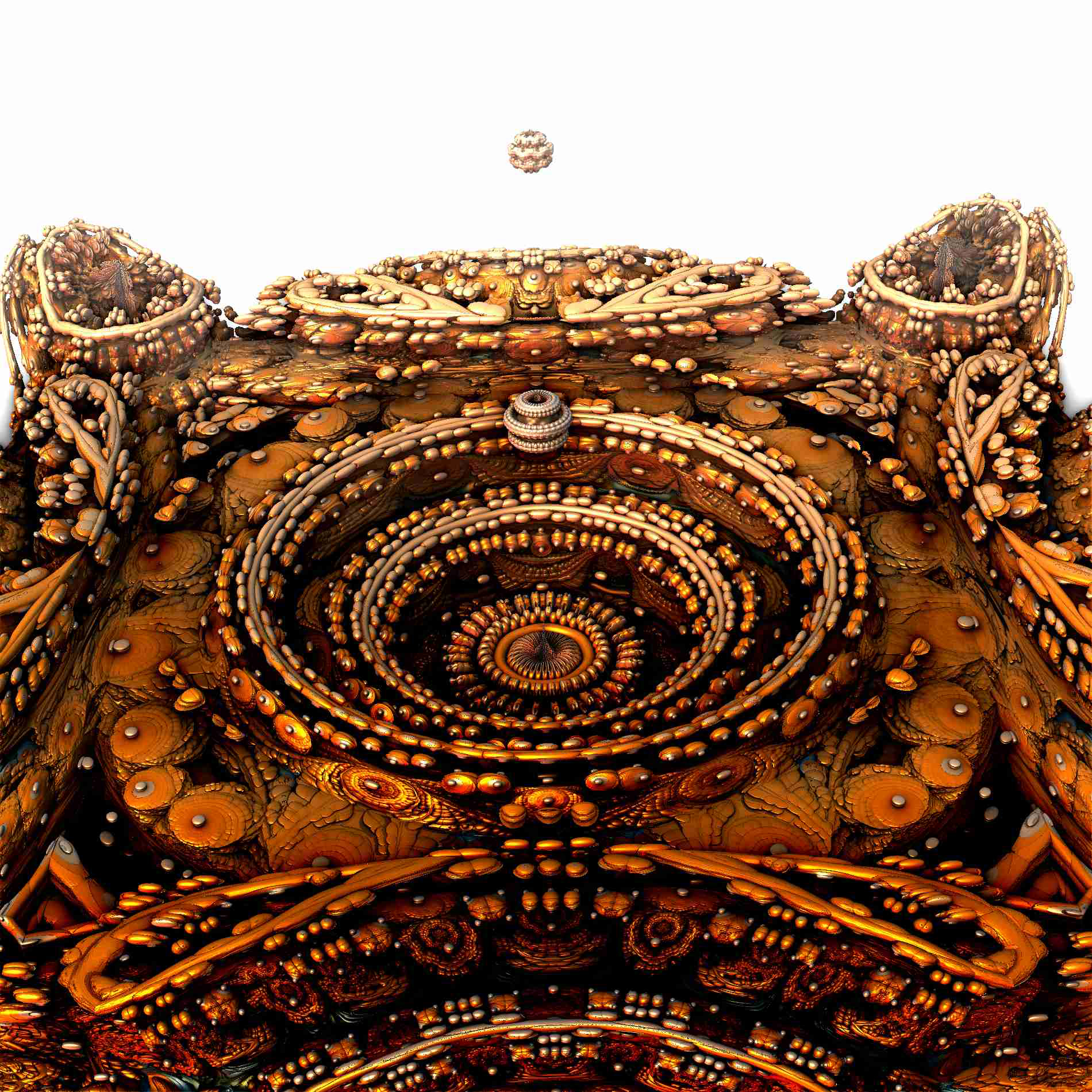 古代の遺跡 宇宙基地に宇宙船到着:リアル