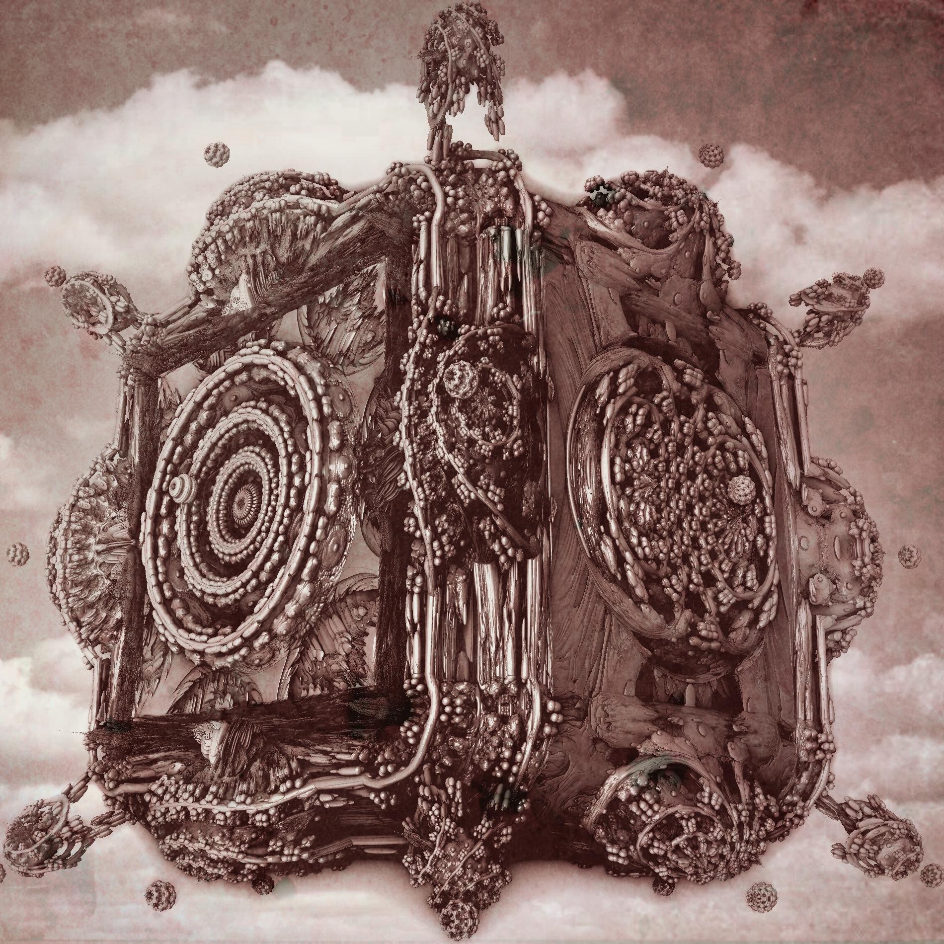 空に浮かぶ神秘的な寺院&ミステリアス:発見