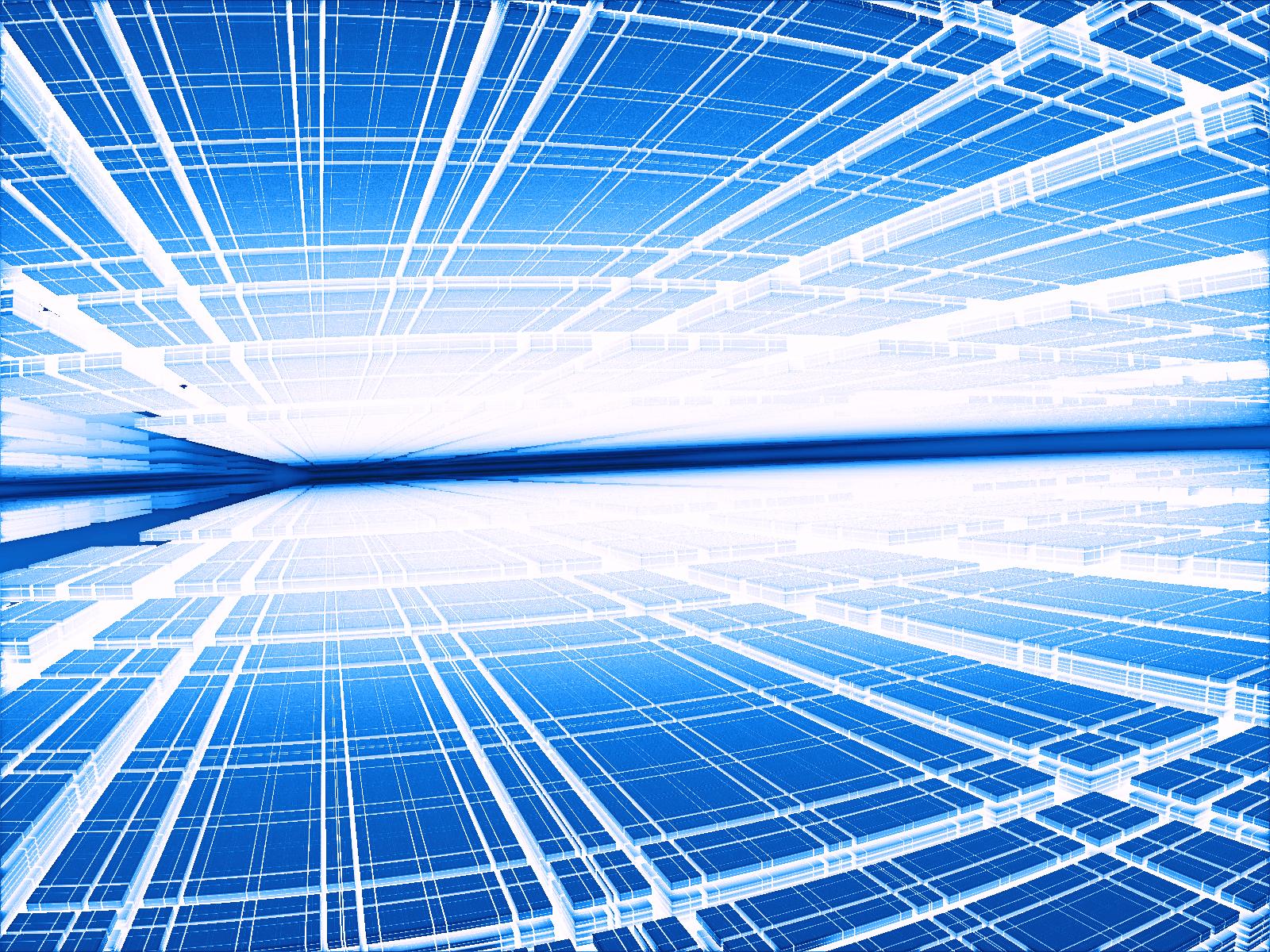 近未来SFのデジタル赤外線空間
