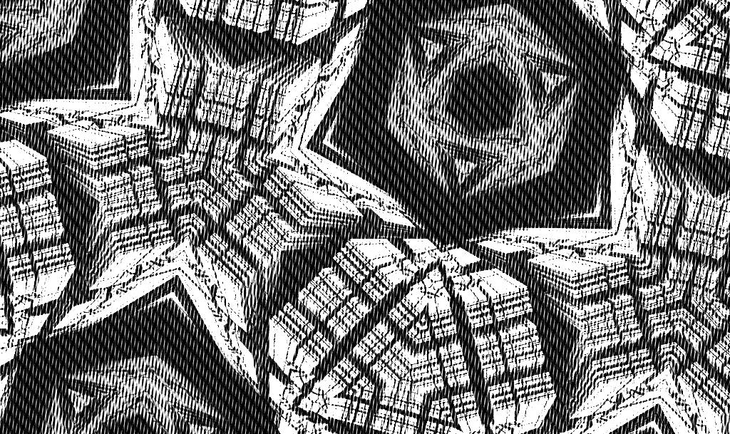SFのスペース機械のパターン_トーン