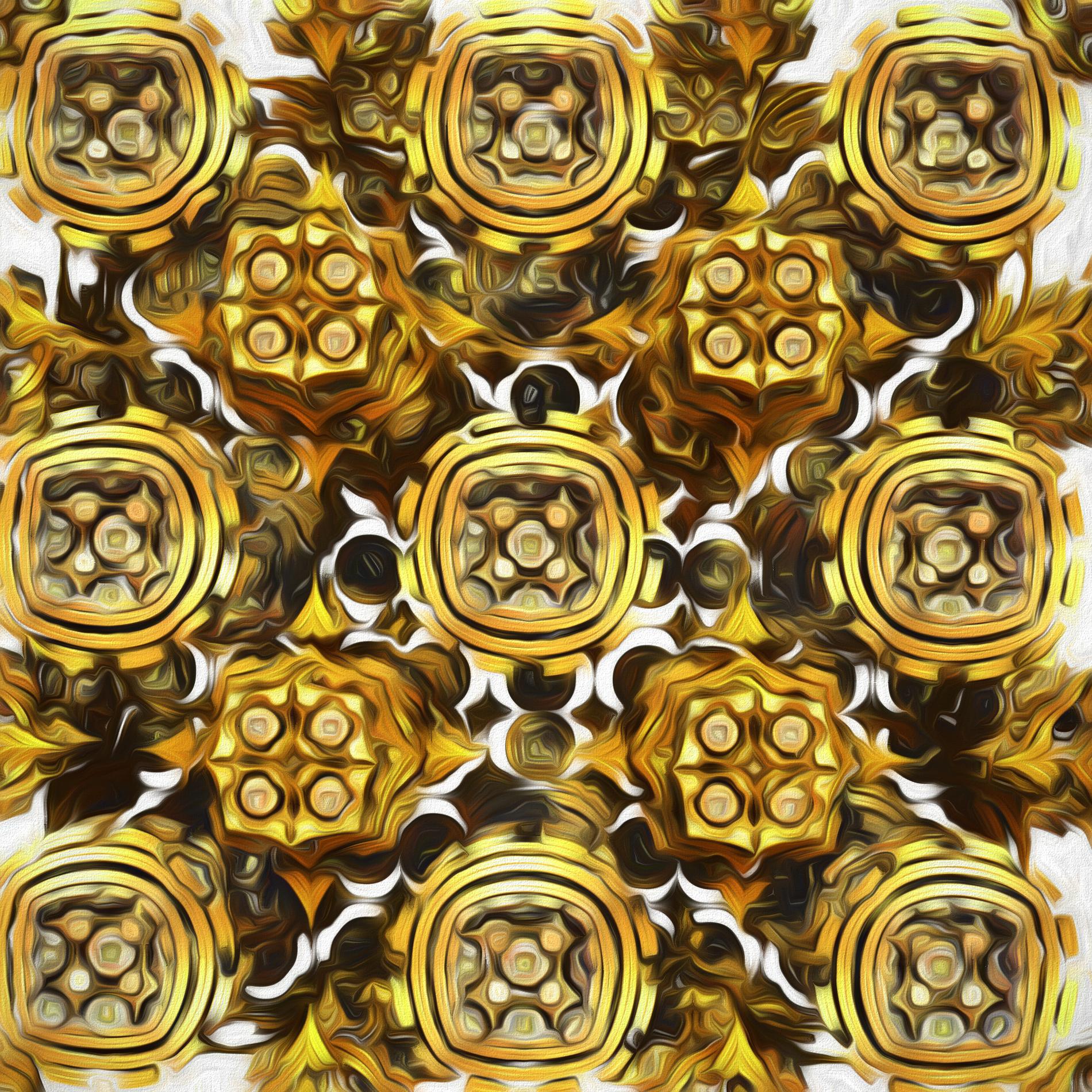 ゴールドダイヤモンド&クリスタルライト:スケッチ
