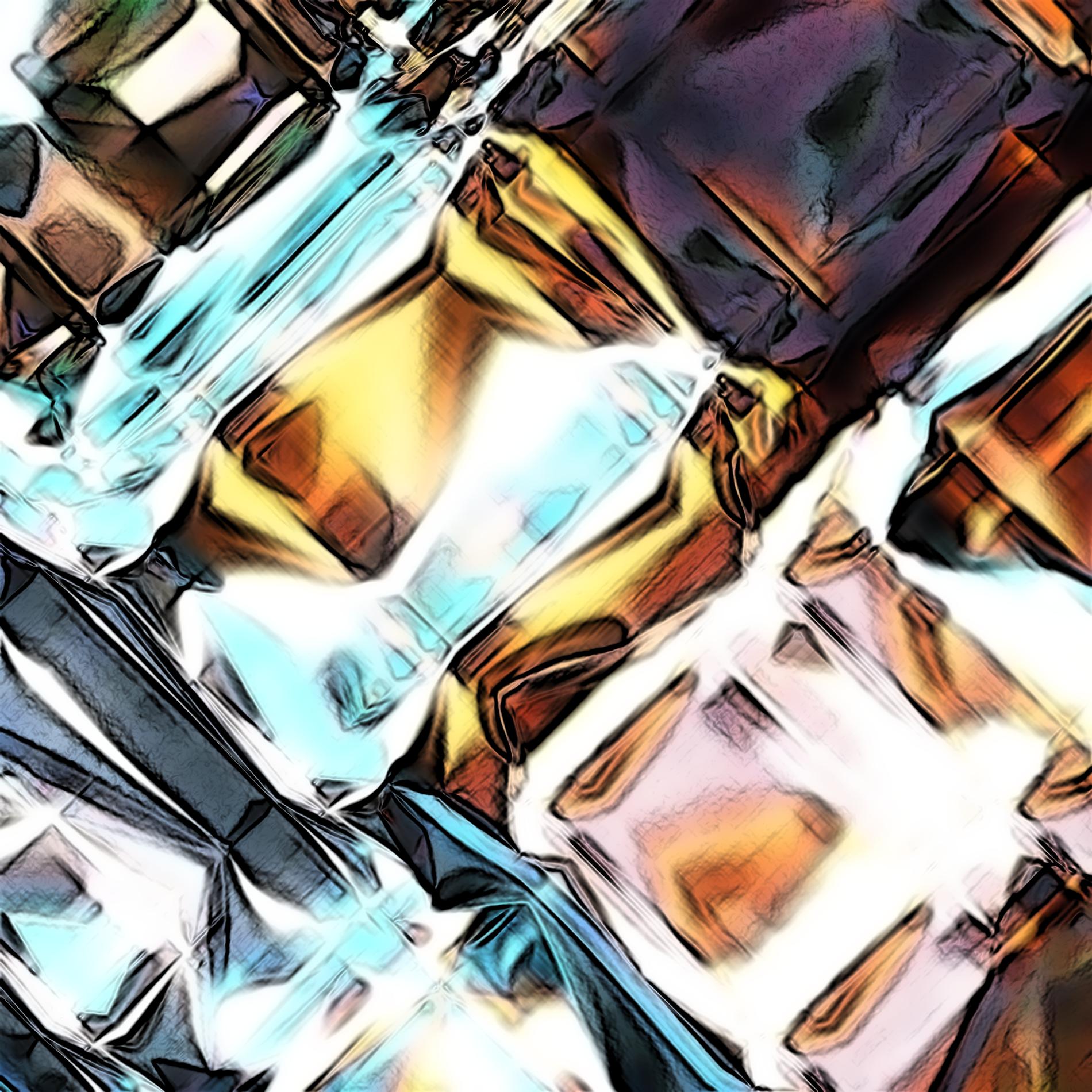 ネオンダイヤモンド&ダークライト宝石:コミック