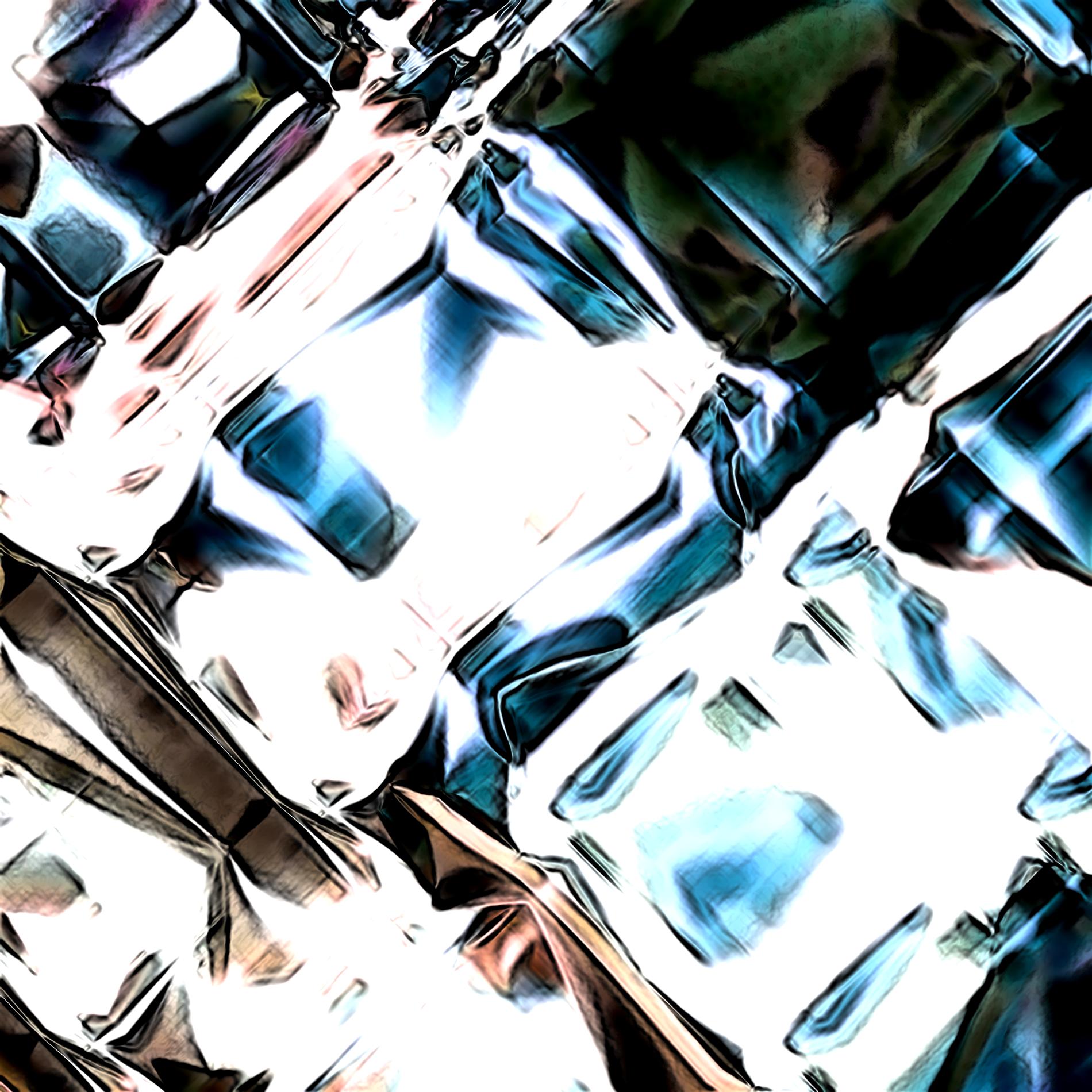 ネオンダイヤモンド&ダークライト宝石:シック