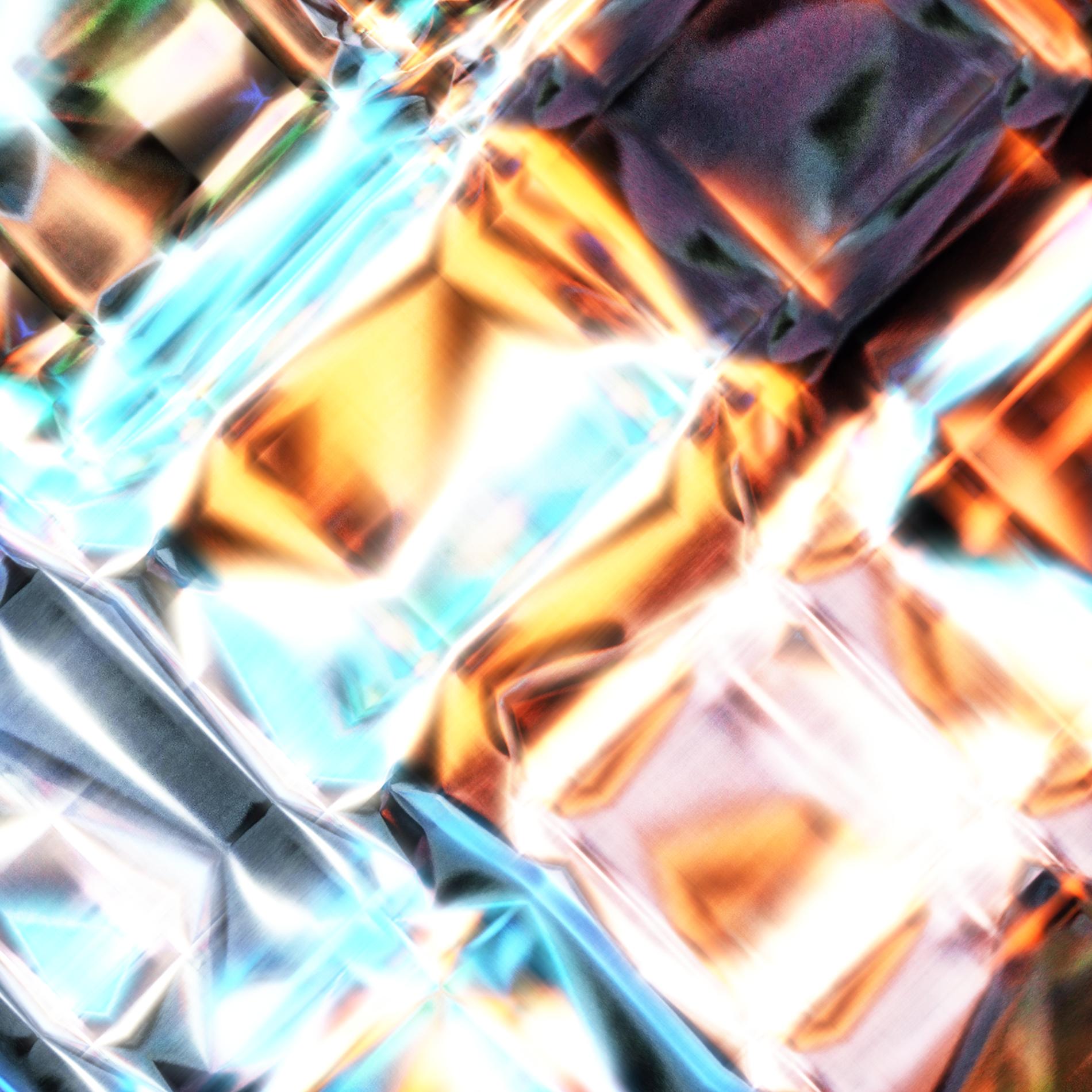 ネオンダイヤモンド&ダークライト宝石:ライト