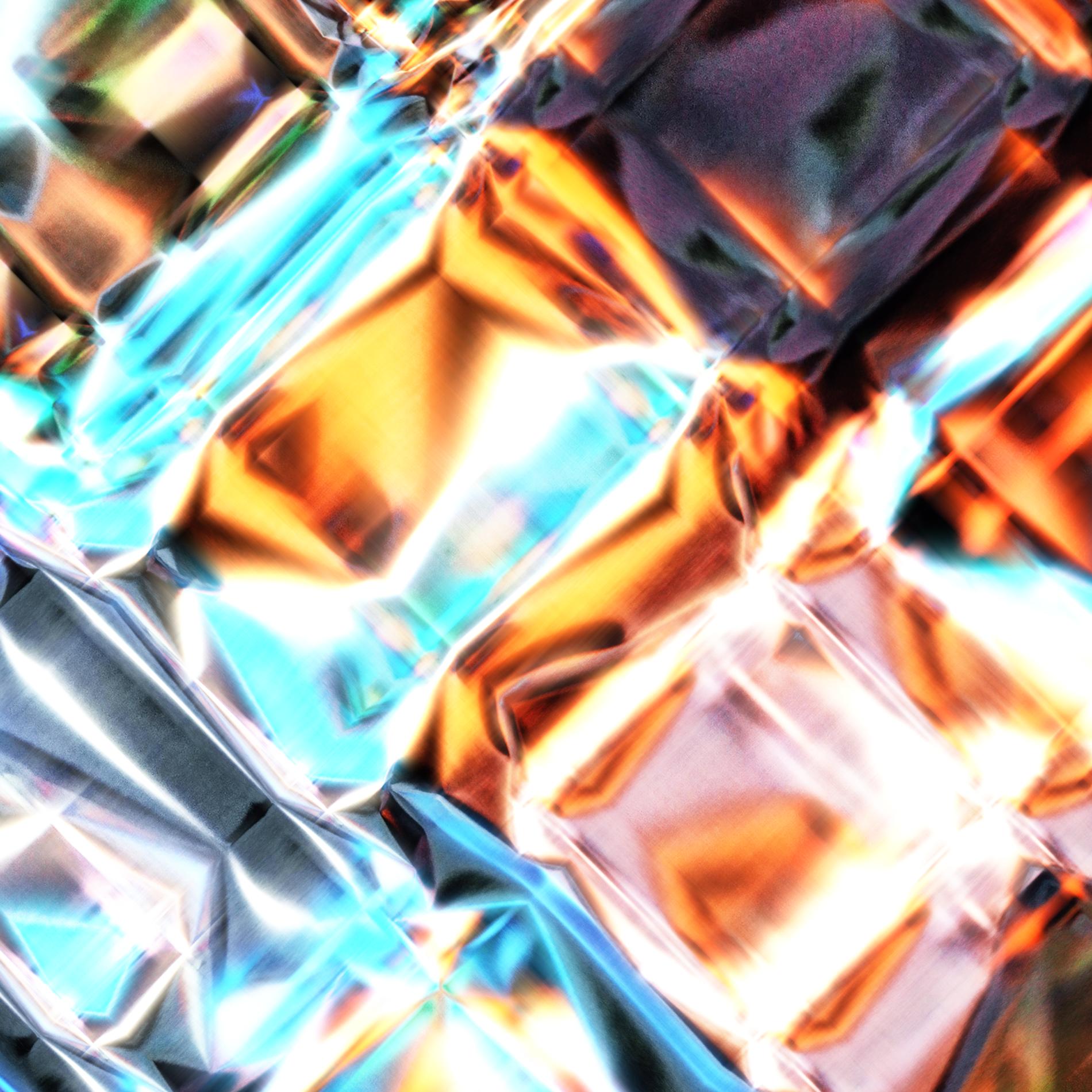 ネオンダイヤモンド&ダークライト宝石:リアル