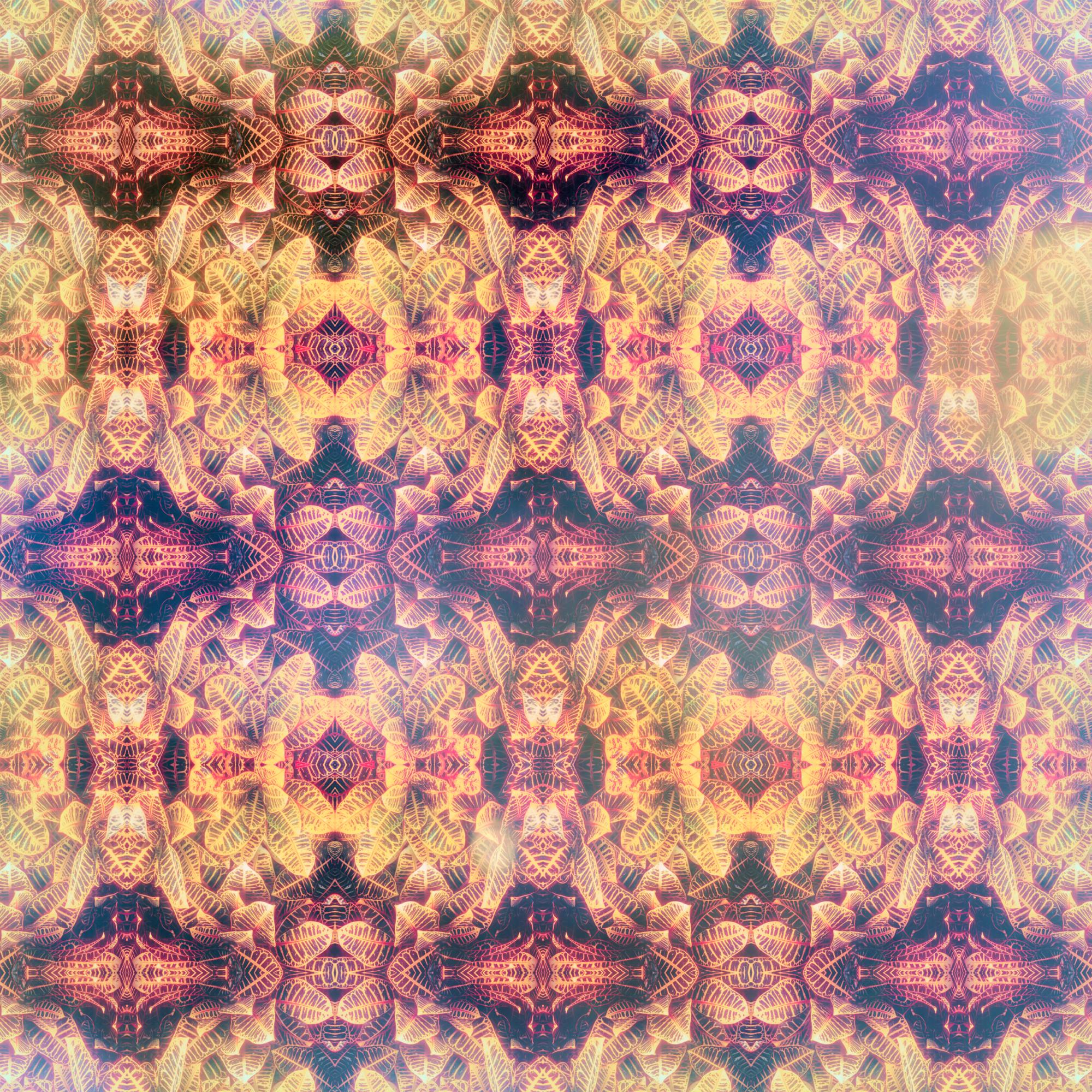 エレガントなリーフパターン&貴族スタイル壁紙:幻想