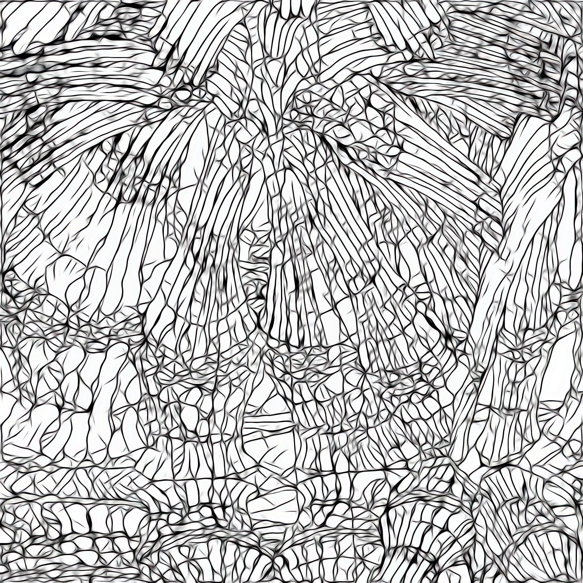 きれいなステンドグラスとカラフルガラス:スケッチ