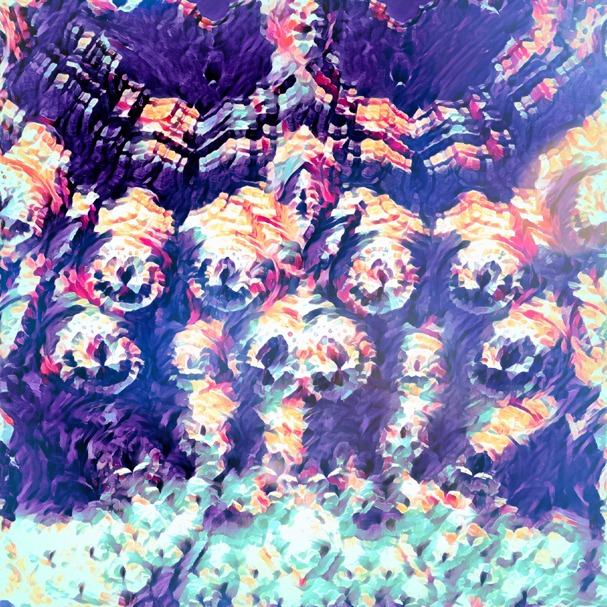 恐怖&怖い威圧的なファンタジーの壁&岩の壁紙:幻想