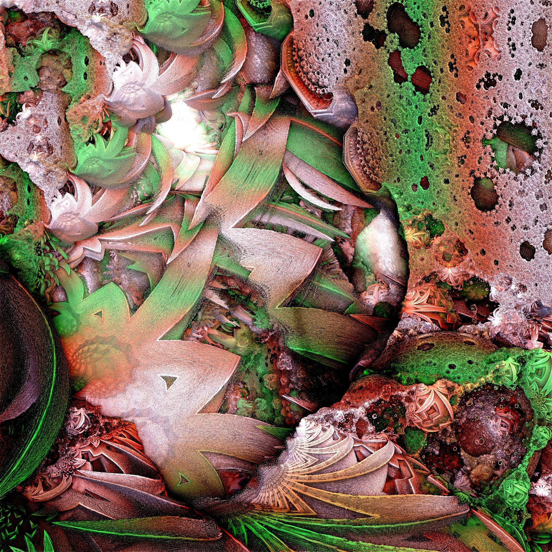 芸術のジャングルワールド&不思議な世界:リアル