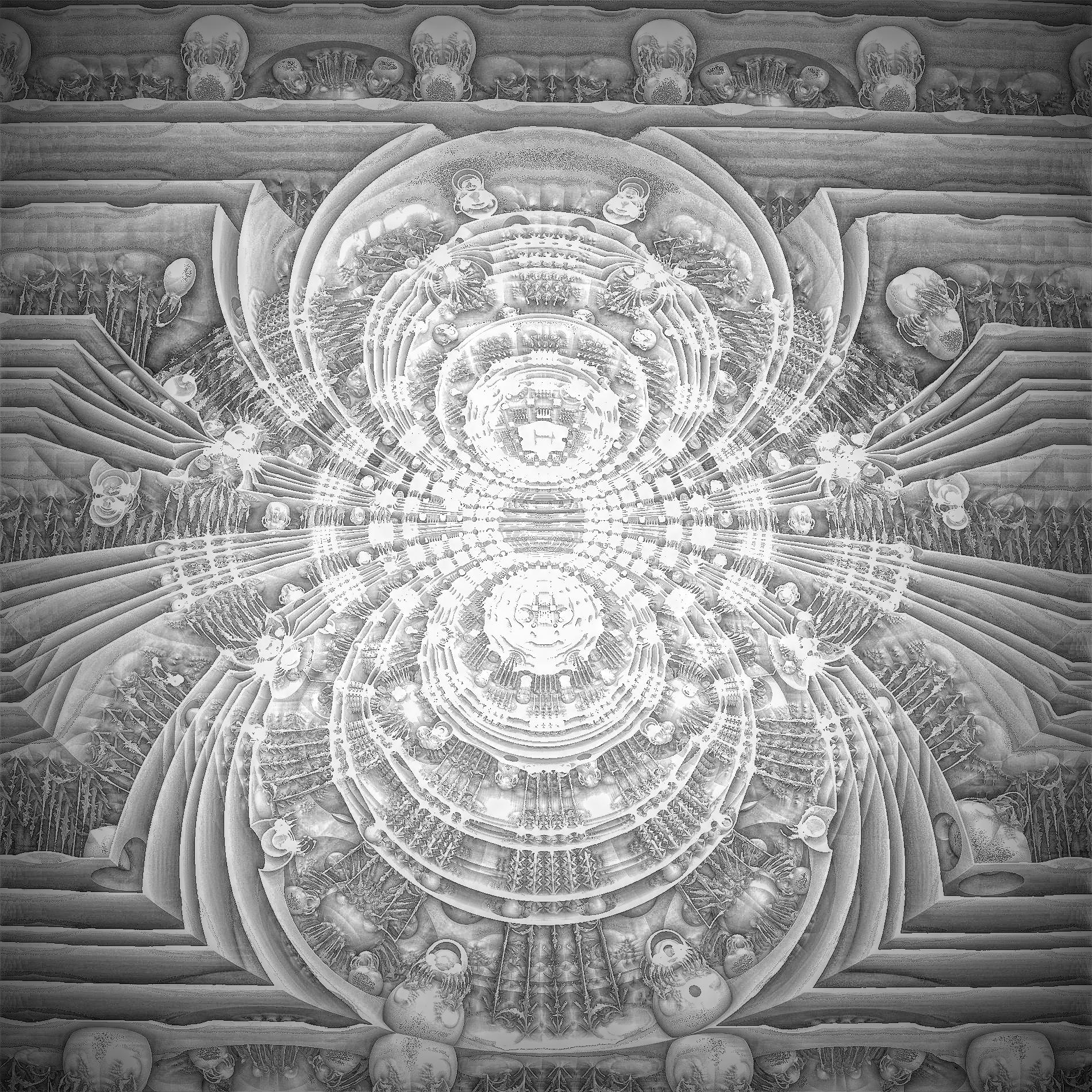 癒しの光&空想世界の景色の壁紙:暗闇