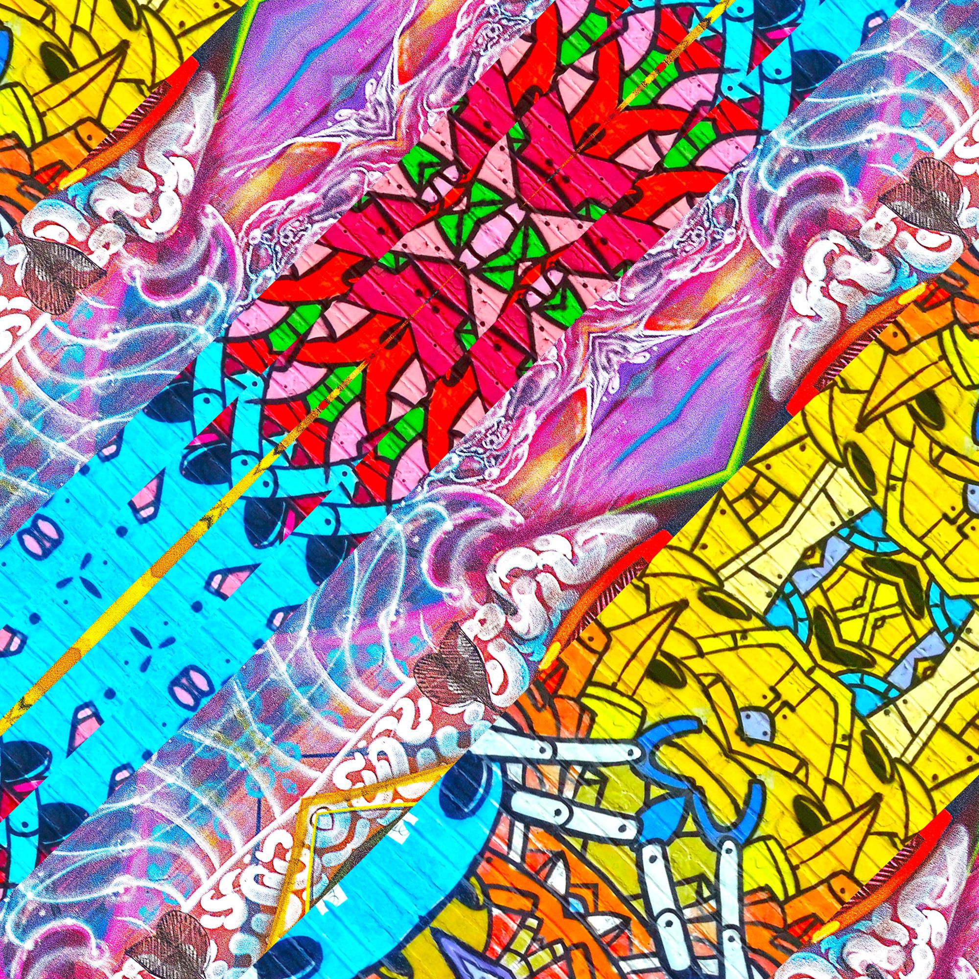 カートゥーンポップ&カラフルコミックス壁紙
