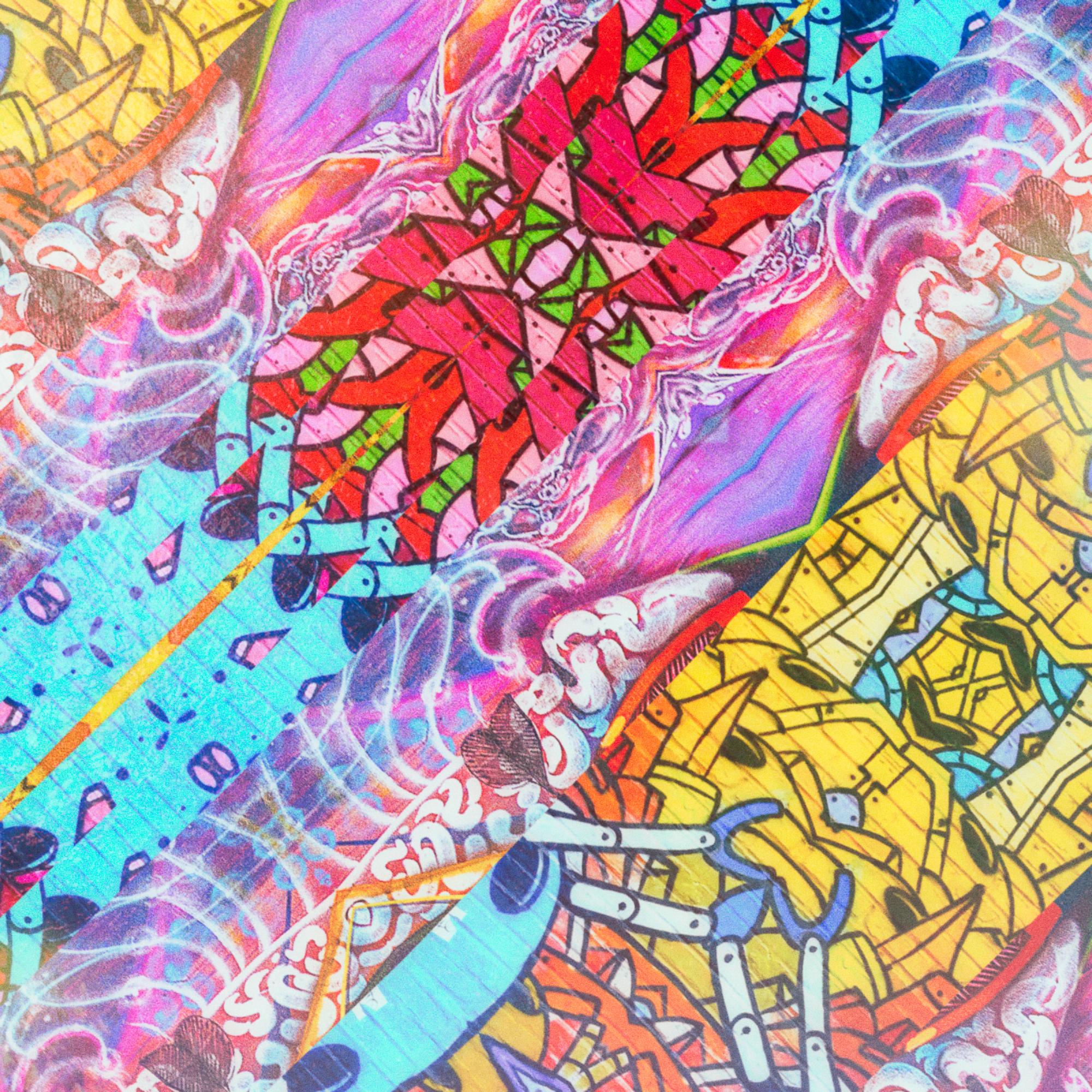 【無料背景画像】カートゥーンポップ&カラフルコミックス壁紙:80年代ポスター